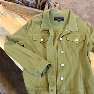 Women's Fabrício Gianni Olive Green Jacket